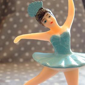Ballerina Cupcake Topper cake, homemade cake